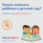 Государственные и муниципальные услуги