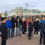 Лучшие челябинские команды Почетного караула «Вахта памяти» посетили Екатеринбург