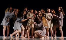 Рекордное количество танцоров выступили на фестивале «Весна студенческая»